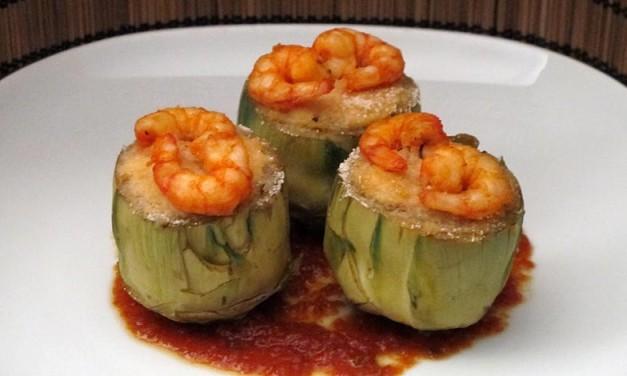 Deliciosas alcachofas marinas