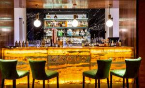 Bar de el Restaurant Coque.