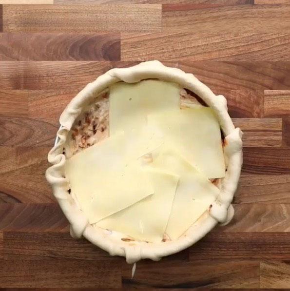 Lasagna pizza: Paso 12