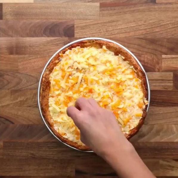 Lasagna pizza: Paso 19