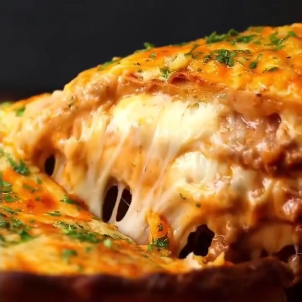 Lasagna pizza: Paso 23