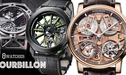 8 relojes con tourbillon
