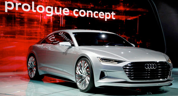 Audi A8 2018 prologue concept