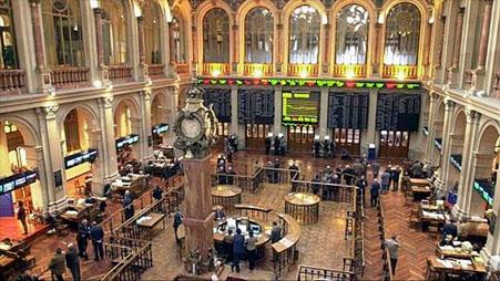 Bolsa de valores, Madrid, España