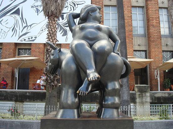Escultura de Botero. Medellin