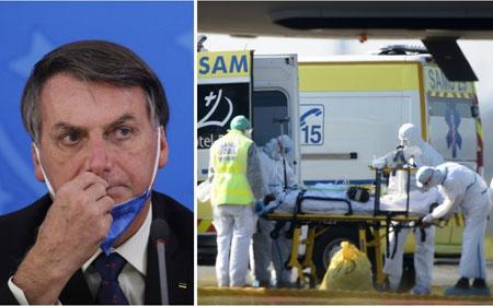 Brasil padece de la pandemia Covid19