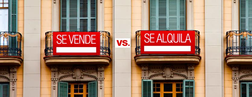 Comprar vs. Alquilar
