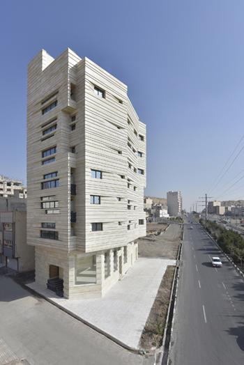 El edificio residencial Avini