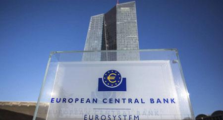 El BCE, Banco Central Europeo.