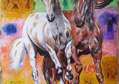 El caballo y su espacio VI