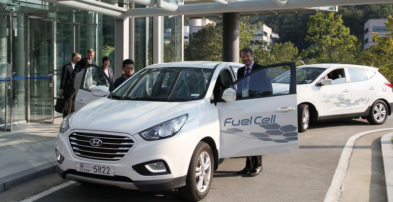 Vehiculos del futuro-Fuel - FCEV - Cell Electric Vehicle