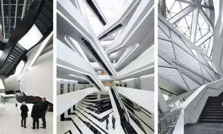 Zaha Hadid: Las Escaleras Infinitas