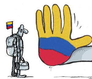 no mas migración a Colombia