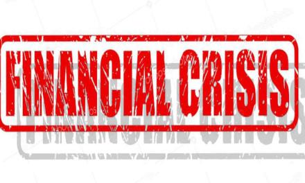 La gestación de una recesión y  CRISIS FINANCIERA en 2020