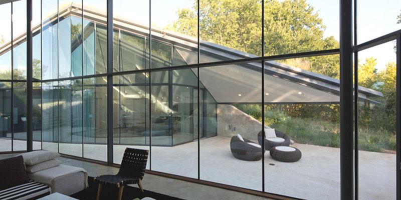 La Casa Edgeland con Calefacción Natural