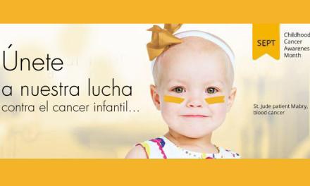 St. Jude Children's Research Hospital® Concientización del Cáncer Infantil