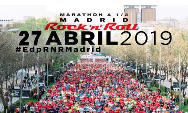 Rock N Roll Madrid Maratón 2019