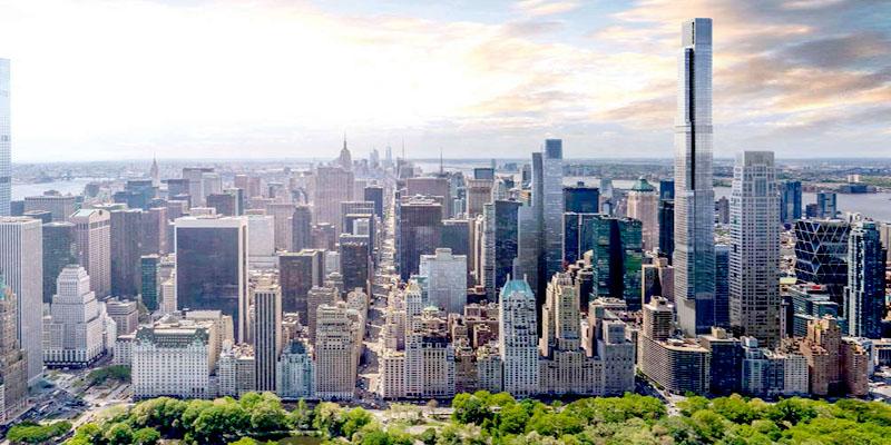 El edificio residencial más alto del mundo: Central Park Tower