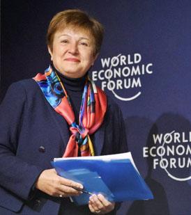 Kristalina Georgieva, Directora del FMI