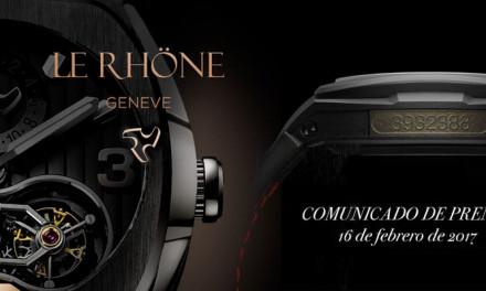 Relojes Le Rhone