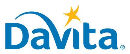DaVita logo. (PRNewsfoto/DaVita Kidney Care)