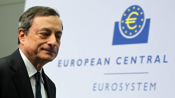 Mario Draghi Banco Europeo