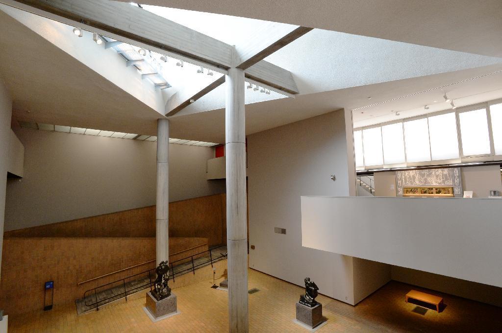 Interior del Museo de Tokio.
