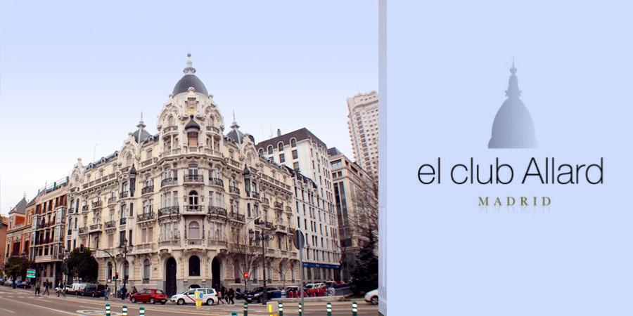 El Restaurante El Club Allard de Madrid.