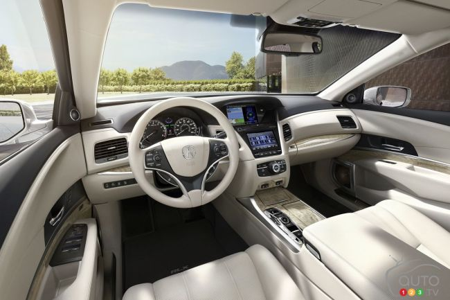 2018 Acura RLX Sport Hybrid, Seacoast interior color