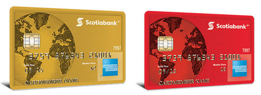 Scotiabank-AMEX-VISA