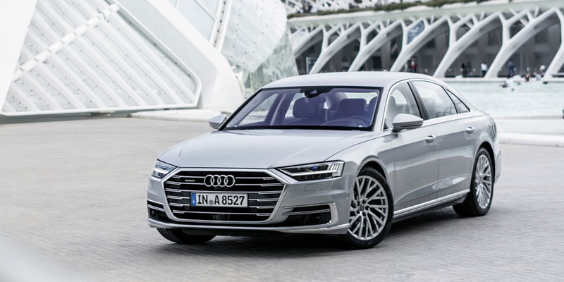 "El Audi A8 es el ""World Luxury Car 2018"""