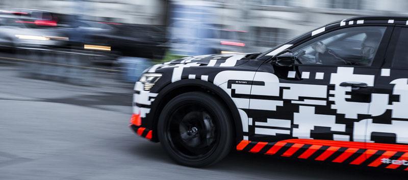 El Audi e-tron prototype en Ginebra.