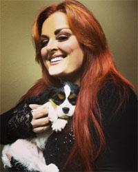 Winonna y su perra Starlet