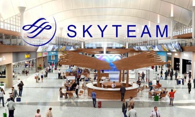 SkyTeam: mapas digitales interactivos en aeropuertos
