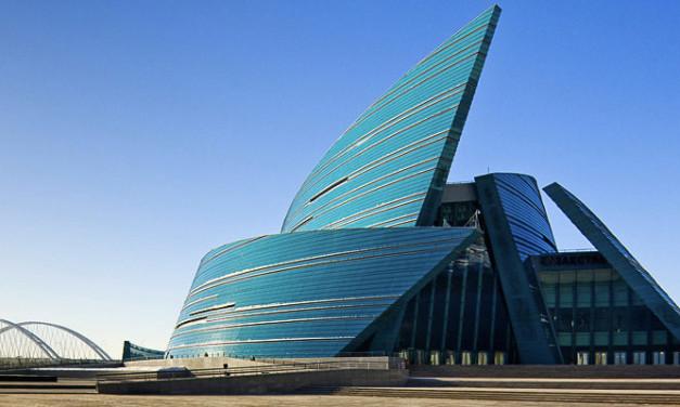 El Auditorio de Astaná en Kazajstán