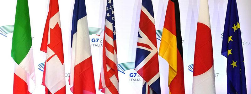 banderas del G7