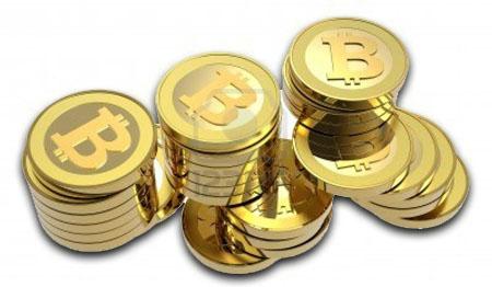 Bitcoin en monedas