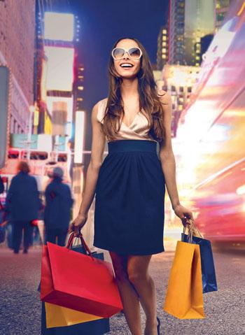 Llendo de compras...
