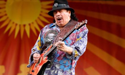 La guitarra de Carlos Santana