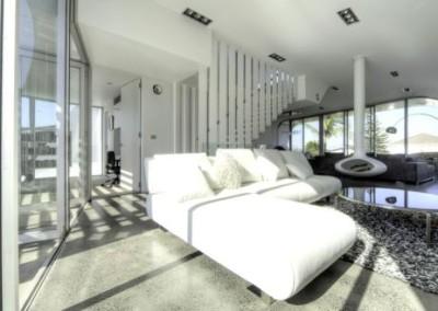 Casa Moebius interior