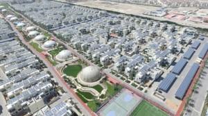 Módulos FV de Trina operativos en la Ciudad Sostenible de Dubái (PRNewsfoto/Trina Solar Limited)