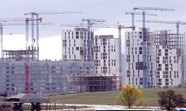 REPUNTE DE LA CONSTRUCCION DE OBRA NUEVA EN ESPAÑA