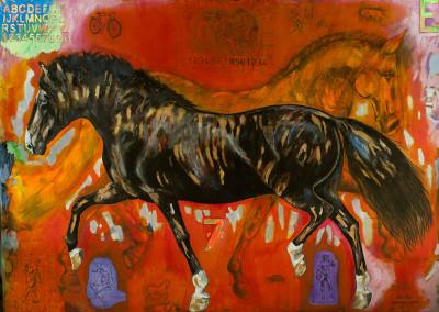 el caballo y su espacio I