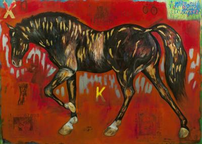 el caballo y su espacio III