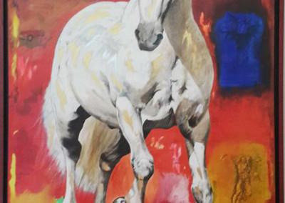 el caballo y su espacio IV