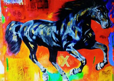 el caballo y su espacio V