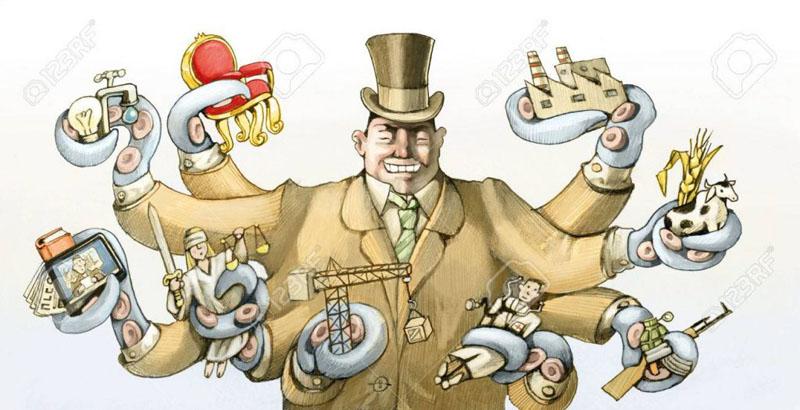 El rico capitalista