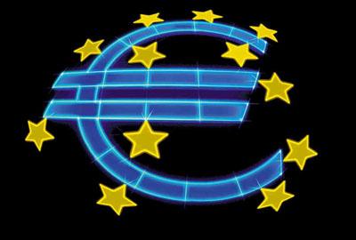 Ilustración del logo del Euro