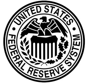 FED - United States Federal reserve system's logo.
