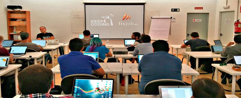 Aula de clases de Keepcoding_para programadores